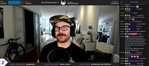 Stream live for Rainbow Railroad on Twitch
