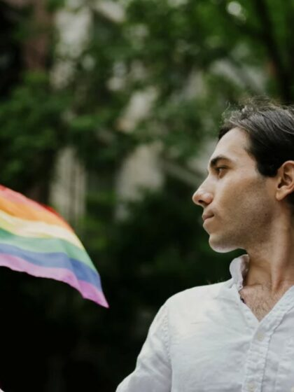 Assisting Amin to escape the anti-gay purge in Che...