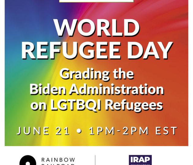 World Refugee Day – Grading the Biden Administration...